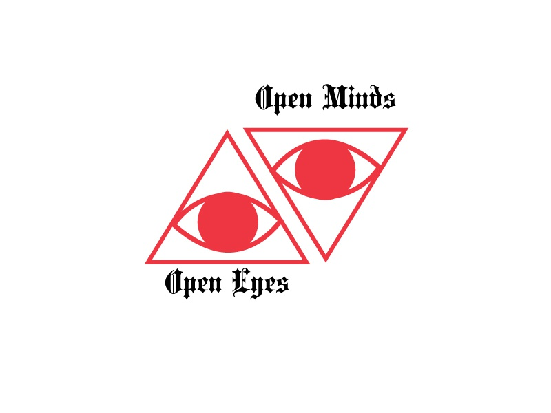 Open Minds symbol snake reno occult obelisk nevada los angeles illustration design california branding brand