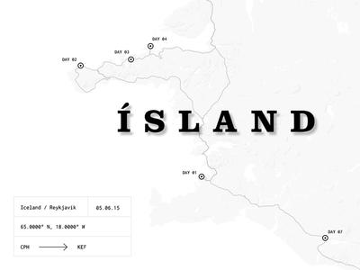 Travel blog: Pt 01 — Iceland website white story blog ui photo iceland simple travel