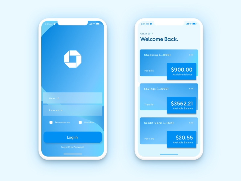 Chase Bank by Amanda Lumley on Dribbble