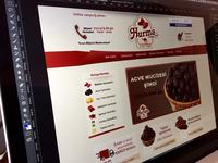 Hurma.com e-commerce site design
