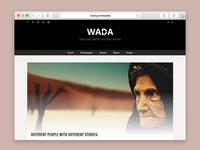 WADA - A Blogging Wordpress Theme