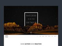 TEONA — One Page Creative Agency, Portfolio PSD Template