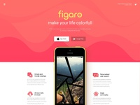 Figaro - App Landing Page  (Demo One)