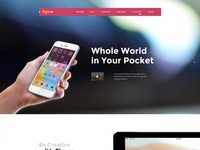 Figaro - App Landing Page  (Demo Two)