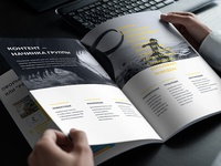 Brochure of presentation for Rostelecom