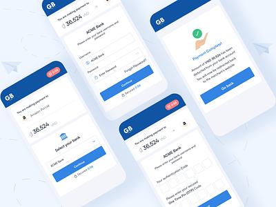 Payment Gateway bankingapp money wallet finance webdesign banner ux ui fintech bank payment design app ios mobile gateway banking