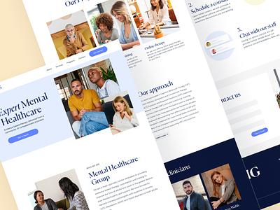 Medical Website healthcare psychology health medical website design webdesign ux ui