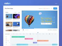 Roll On Video Editor - UI Design