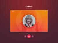 Media Player - UI design