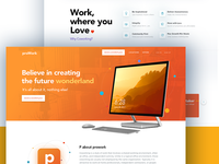 Proworking 👨‍💻 - Landing page