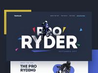 ProRider 🚴 - Landing Page