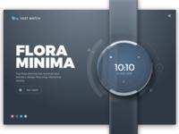 Watch product design - Flora Minima