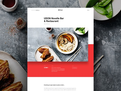 Start - Case study case study agency white clean design web ux ui