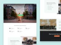 Bike City landing page