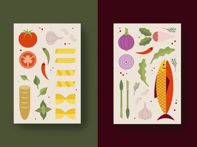 Kitchen Poster Series print poster design poster art poster graphic design graphicdesign illustration art illustraion