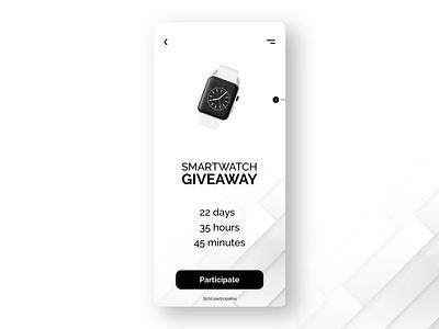 DailyUI #97 - Giveaway UI giveawaydesign giveaway design ui  ux daily 100 challenge uidesign figma dailyuichallenge adobexd dailyui