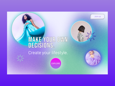 12 Daily UI. Agency Landing page graphic design branding logo illustration app neumorphic button minimalism design trend new gradient website ux ui
