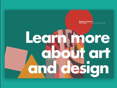 41 Daily UI. Art Website inspiration trend new typography graphic design branding logo illustration app neumorphic button ui ux minimalism design