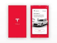 Tesla iOS - Concept