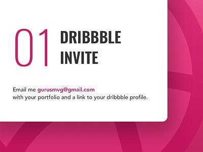 01 Dribbble Invite shot new invite invitation dribbble