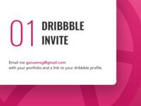 01 Dribbble Invite