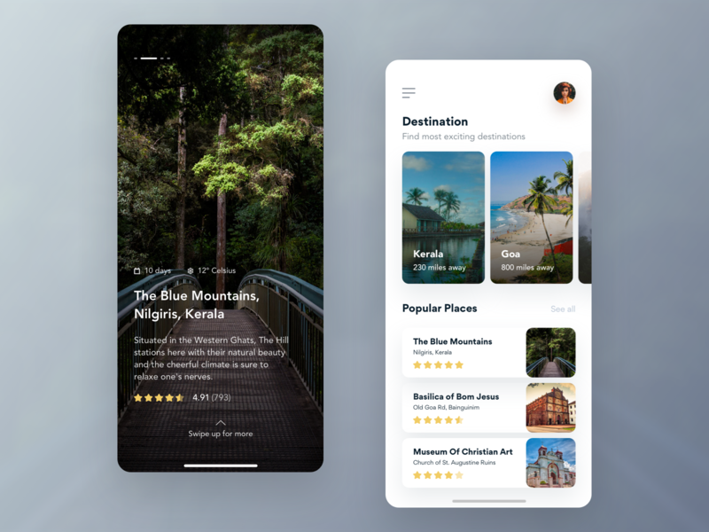 Travel App icon free vector animation user illustration typography mobile invitation interface design app phone dribbble card experience new ios ui ux