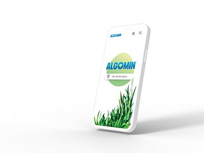 Algomin | Web design web graphic design design