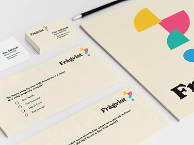 Frågvist | Visual Identity mockup branding logo graphic design design
