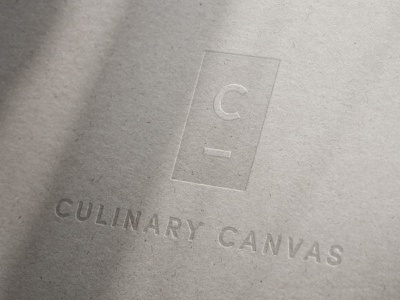 Culinary Canvas | Logo visual identity mockup branding logo graphic design design