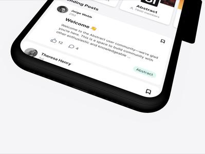Introducing Spectrum's Unofficial Mobile App slack twist spectrum chat forum prototype figma animation interaction app ux homepage design component ui concept