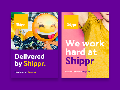 Shippr flyers delivery shippr design branding flyers flyer