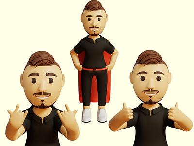 3D Character custom is here🔥 custom cycles rigging render uiux ux ui indonesia designer karakter artwork illustration design blender3d blender 3d modeling 3dillustration 3d character 3ddesign 3dcharacter 3d