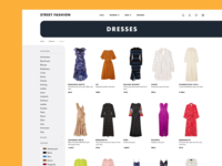 fashion e-shop catalog