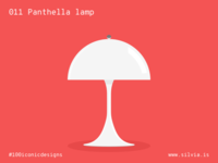 011 Panthella Lamp