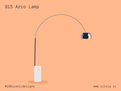 015 Arco Lamp