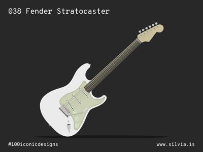 038 Fender Stratocaster