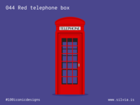 044 Red Telephone Box