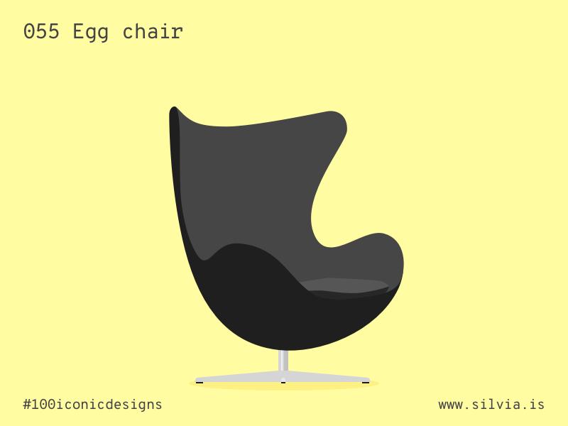 Egg Chair Arne Jacobsen Kopie.055 Egg Chair By Silvia Venditti On Dribbble