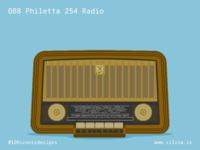 088 Philetta 254 Radio