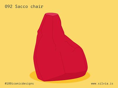 092 Sacco Chair seat chair italiansdoitbetter zanotta sacco