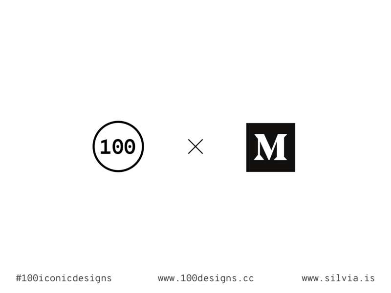 100iconicdesigns x Medium ui ux learning challenge blog article medium design productdesign product 100iconicdesigns