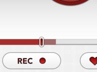 """""""D R"""" app UI preview"""