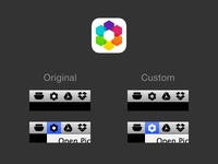 Picturelife Custom Menu Icon