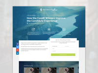 Smashfly Webinar Landing page