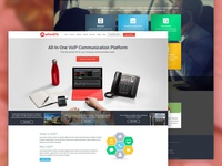 Allworx Homepage Concept