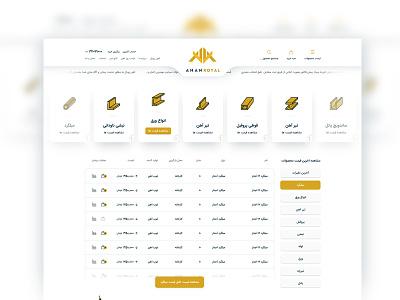 AhanRoyal - Online Ironing flat website ivahid design webdesign ui