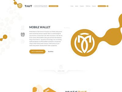 TAUT Site Design ivahid design ui webdesign