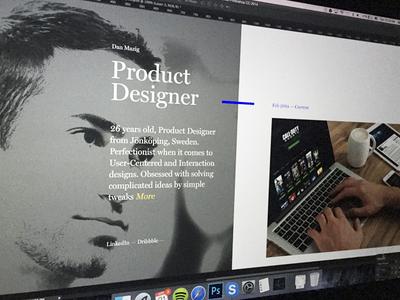 Portfolio Update portfolio blog showcase ui