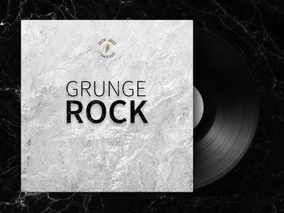 Grunge Rock 1979 - 2015 mixtape grunge rock vinyl cd volume spotify