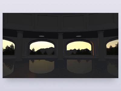 AllSeated VR – Intro Loader architecture model cinema 4d c4d 3d animation oculus sunrise virtualreality virtual reality loader intro vr